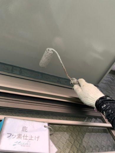 奈良生駒市N様 外壁塗装・防水工事 庇フッ素仕上げ