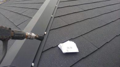 奈良生駒郡三郷町F様邸 外壁塗装・屋根塗装 屋根 高圧洗浄