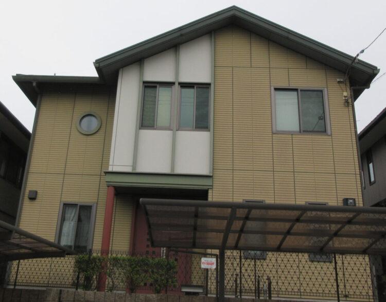 奈良香芝市S様邸 外壁塗装 施工前の写真