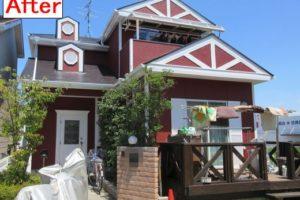 奈良県香芝市 K様邸 外壁・屋根塗装工事