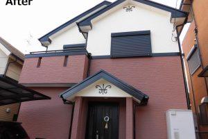 奈良県香芝市旭ヶ丘地区N様 外壁サイディング塗装、屋根塗装