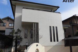 奈良県奈良市三碓地区I様 外壁・外べい塗装工事