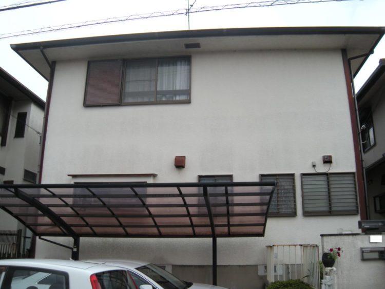 奈良香芝市Y様邸 外壁塗装・屋根塗装・外塀塗装 施工前の写真