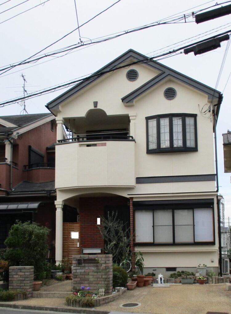 奈良香芝市Y様 外壁塗装・屋根塗装・防水工事 施工後の写真