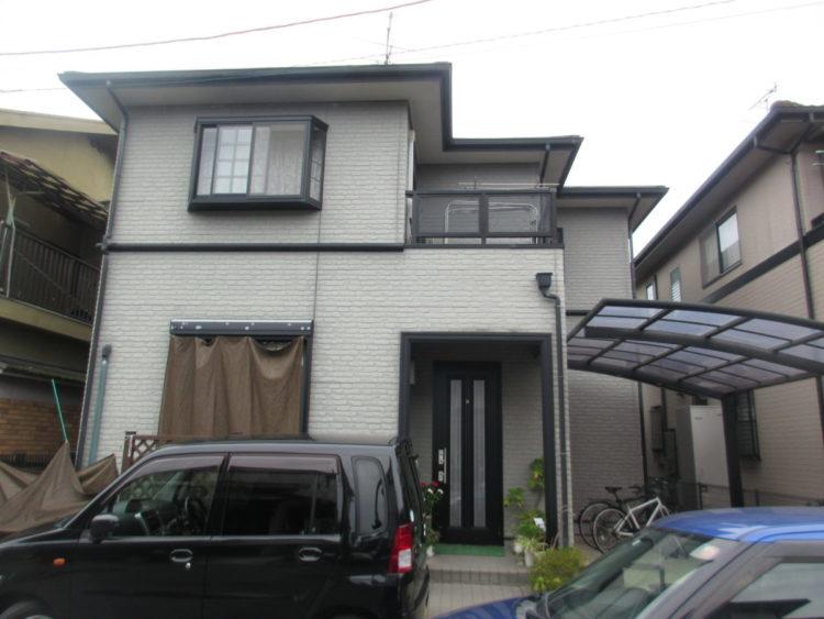 奈良橿原市K様 外壁塗装・屋根塗装・防水工事 施工前の写真