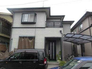 奈良・橿原市K様邸、外壁塗装・屋根塗装 施工前の写真