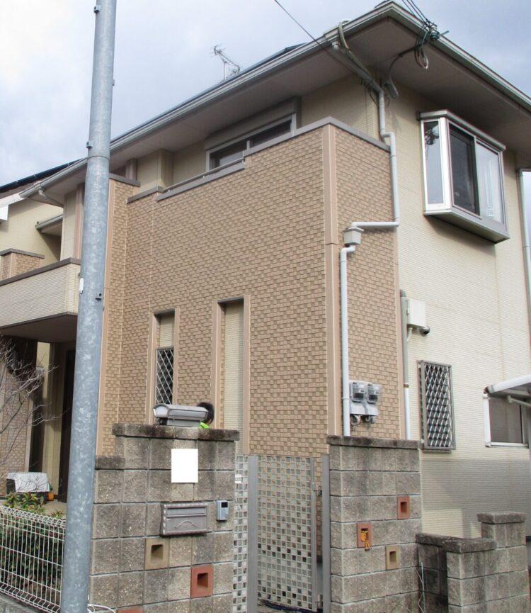 奈良香芝市O様 外壁塗装工事 施工前の写真