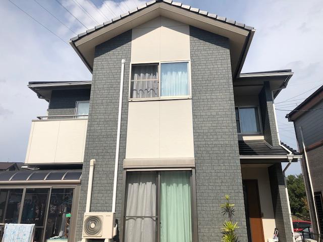 奈良生駒市N様 外壁塗装・防水工事 施工前の写真