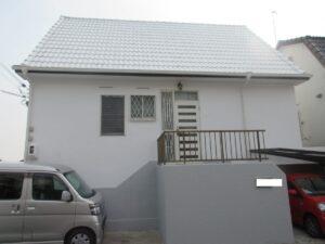 奈良北葛城郡河合町W様邸 外壁塗装・屋根塗装・外塀塗装・防水工事