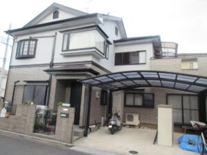 奈良葛城市R様邸 外壁塗装・屋根塗装・防水工事