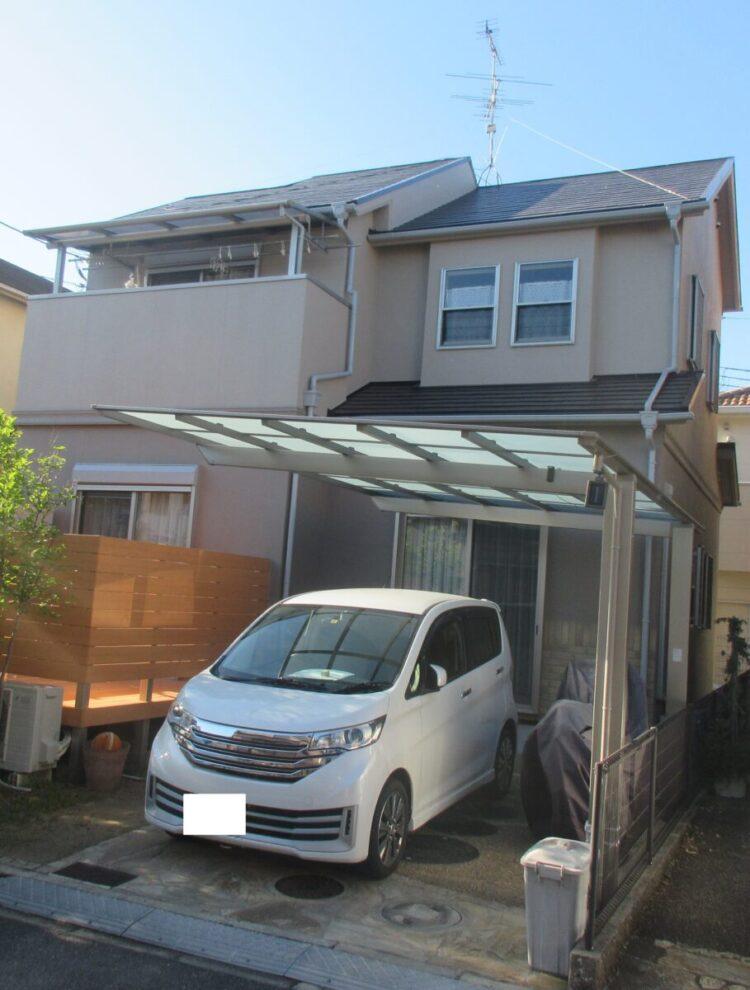 奈良香芝市T様邸 外壁塗装・屋根塗装・防水工事 施工後の写真