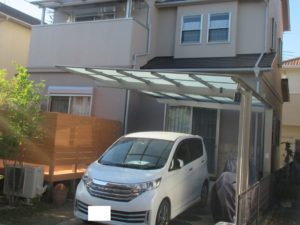 奈良香芝市T様邸 外壁塗装・屋根塗装・防水工事