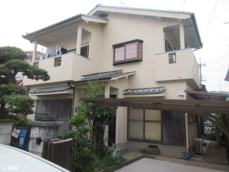 奈良県香芝市T様邸、外壁塗装工事 施工後の写真