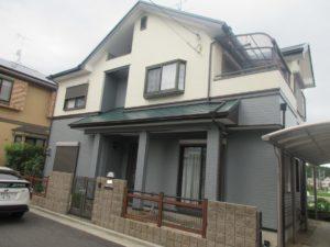 奈良香芝市K様邸 外壁塗装・屋根塗装・ベランダ防水
