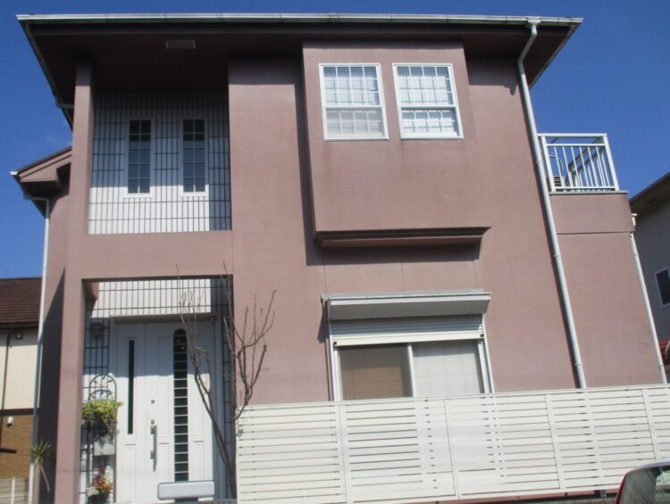 奈良北葛城郡上牧町O様 外壁塗装・屋根塗装工事 施工前の写真