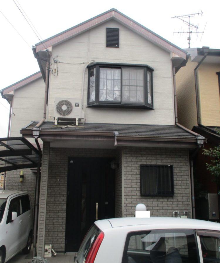 奈良大和高田市N様邸 外壁塗装・屋根塗装 施工前の写真