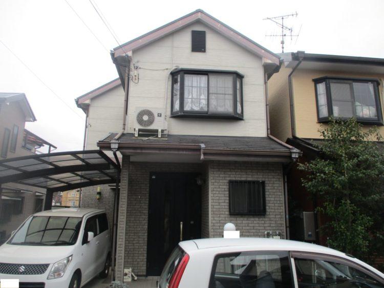奈良大和高田市N様 外壁塗装・屋根塗装工事 施工前の写真