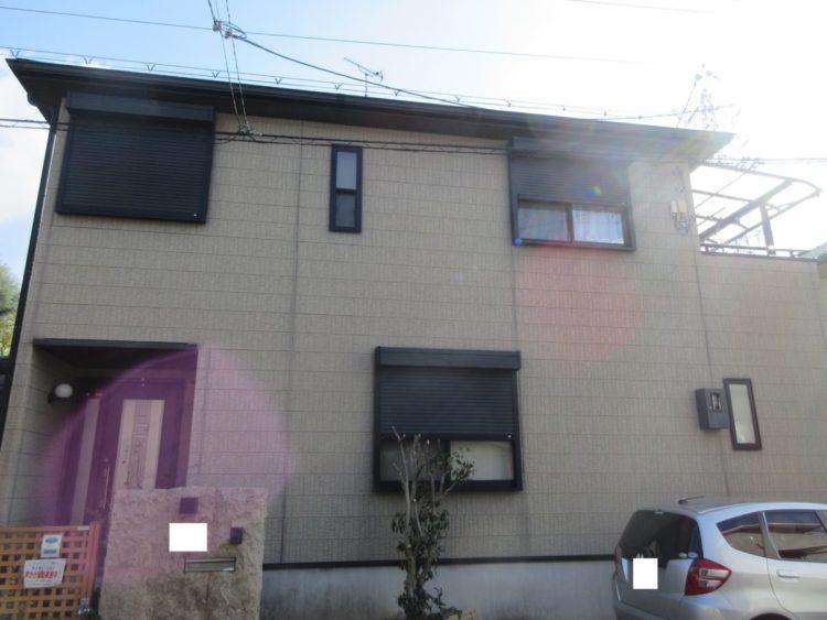 奈良香芝市S様邸 外壁塗装・屋根塗装 施工前の写真
