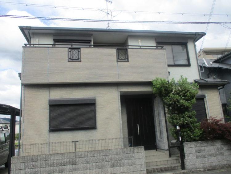奈良宇陀市H様 外壁塗装・屋根塗装・防水工事 施工前の写真