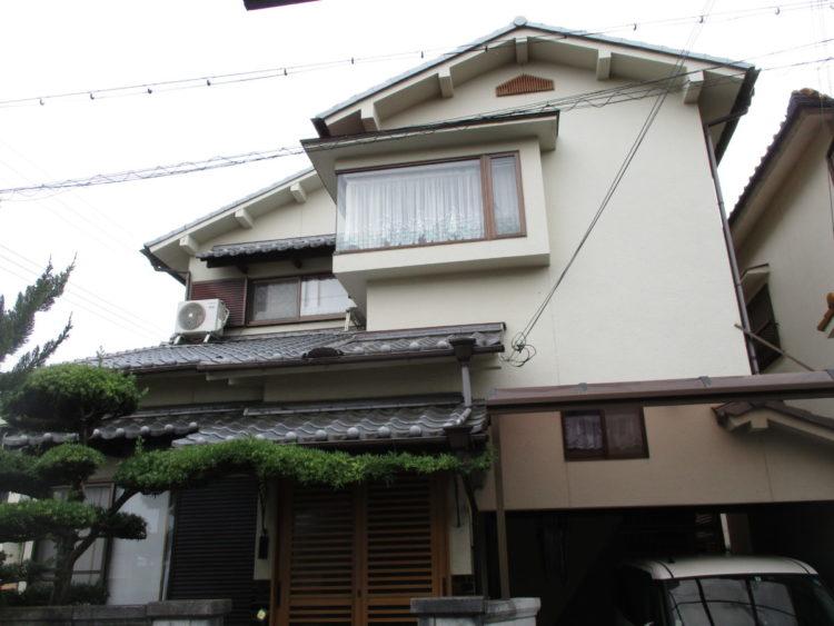 奈良香芝市T様 外壁塗装 施工前の写真