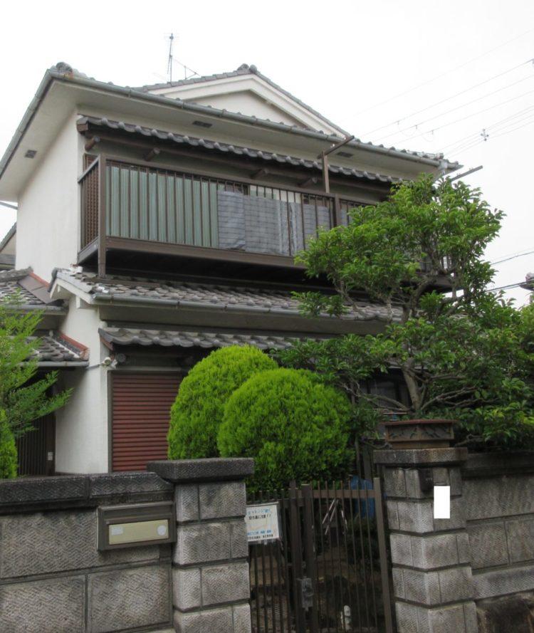 奈良香芝市I様邸 外壁塗装工事・その他のリフォーム 施工前の写真