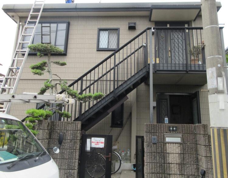 奈良香芝市A様 外壁塗装・屋根塗装工事 施工前の写真