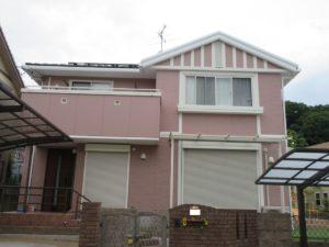 奈良奈良市Y様邸 外壁塗装工事・ベランダ防水工事
