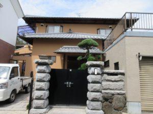 奈良香芝市F様邸 外壁塗装・外塀塗装