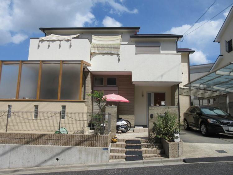 奈良奈良市I様邸 外壁塗装・屋根塗装・ベランダ防水工事 施工後の写真