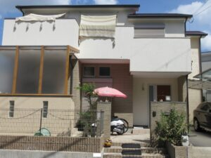 奈良奈良市I様邸 外壁塗装・屋根塗装・防水工事・外塀塗装