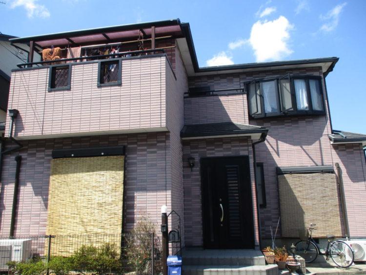 奈良桜井市N様 外壁塗装・屋根塗装 施工前の写真