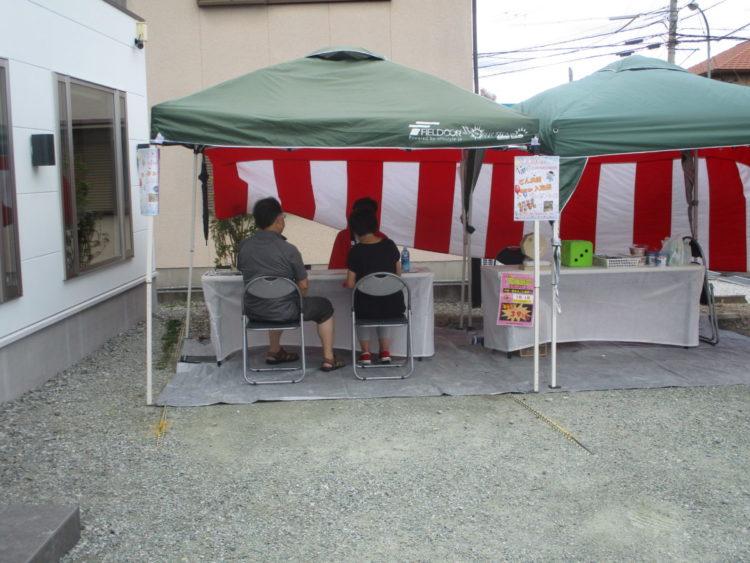 奈良の香芝市の株式会社ヨネヤの外壁塗装と屋根塗装のショールームイベント⑤