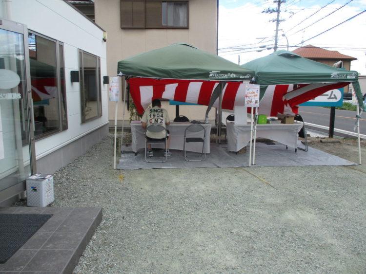 奈良の香芝市の株式会社ヨネヤの外壁塗装と屋根塗装のショールームイベント⑨