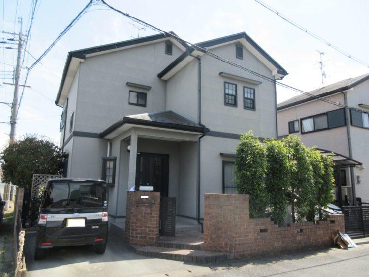 奈良大和高田市Y様 外壁塗装・屋根塗装・ベランダ防水工事 施工前の写真
