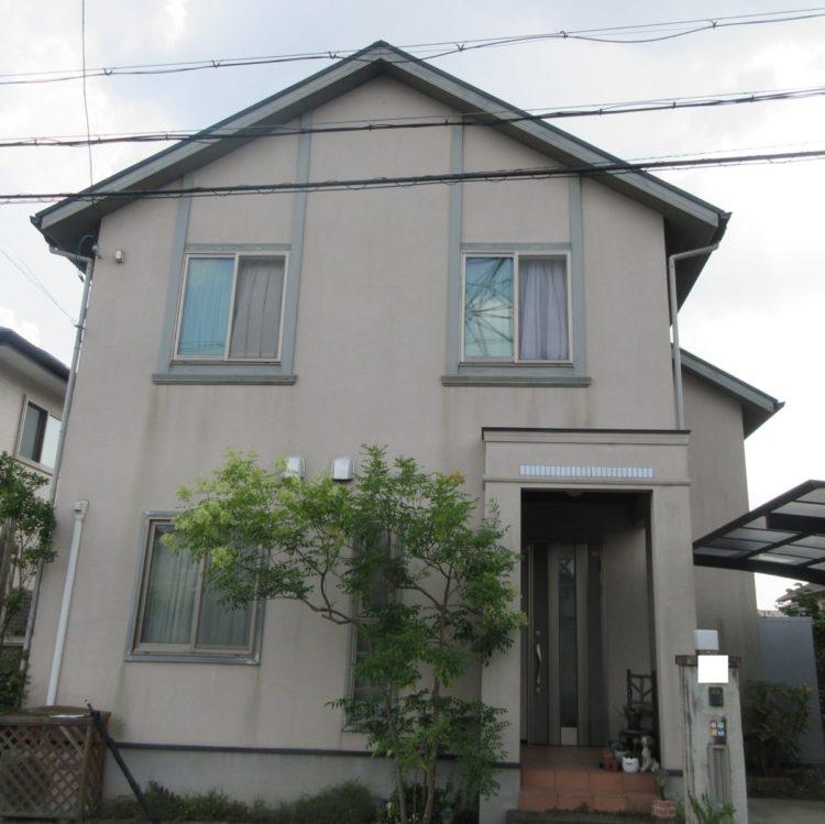 奈良生駒市O様 外壁塗装・屋根塗装工事 施工前の写真
