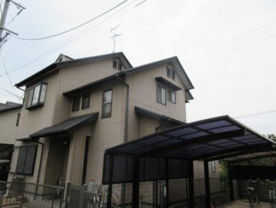 奈良・葛城市M様 外壁塗装・屋根塗装 施工前の写真