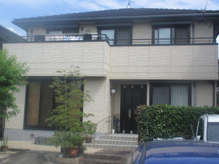 奈良香芝市K様 外壁塗装・屋根塗装 施工前の写真