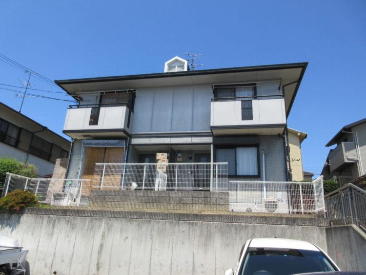 奈良生駒郡平群町K様邸 外壁塗装・屋根塗装 施工前の写真