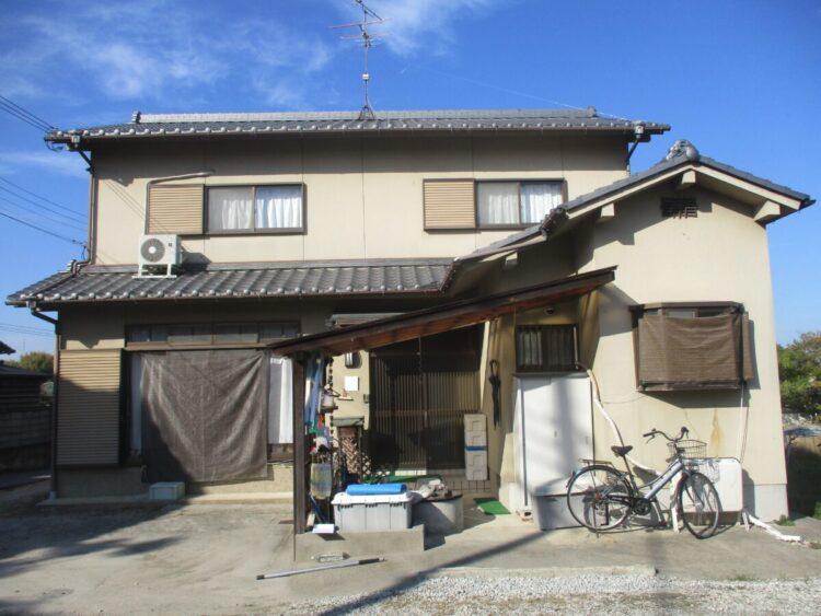 奈良香芝市F様 外壁塗装工事 施工前の写真