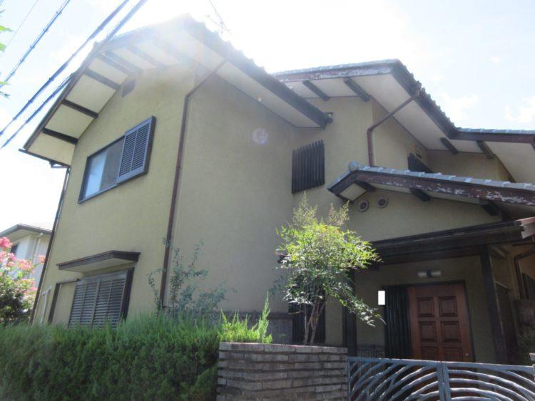 奈良生駒市H様邸 外壁塗装 施工前の写真