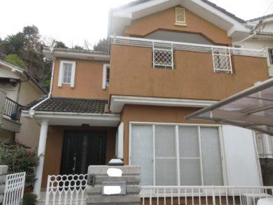 奈良・葛城市S様 外壁塗装・屋根塗装・防水工事 施工前の写真