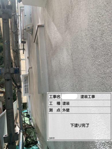 奈良・葛城市S様 外壁塗装・屋根塗装・防水工事 外壁塗装 下塗り