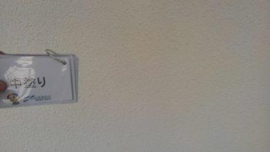 奈良香芝市Y様 外壁塗装・屋根塗装・ベランダ防水・外塀塗装工事 外壁塗装中塗り