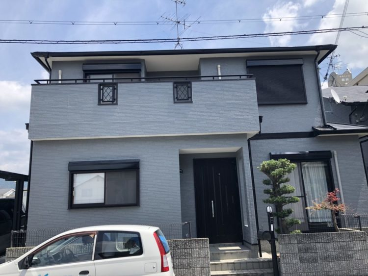 奈良宇陀市H様 外壁塗装・屋根塗装・防水工事 施工後の写真