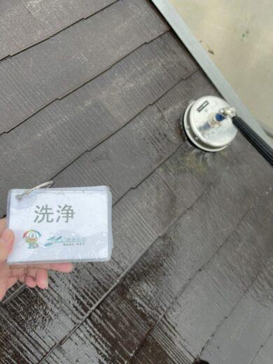 奈良生駒郡三郷町I様 外壁塗装・屋根塗装 洗浄