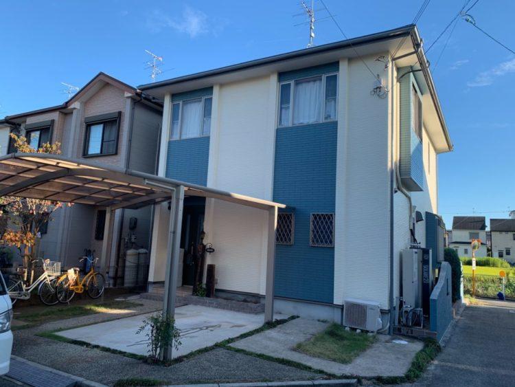 奈良県香芝市O様邸、外壁・屋根塗装工事 施工後の写真