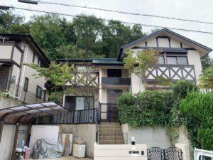 奈良北葛城郡王寺町T様邸 外壁塗装・屋根塗装・防水工事