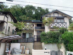 奈良北葛城郡王寺町T様邸 外壁塗装・屋根塗装・ベランダ防水工事