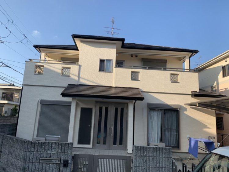 奈良 葛城市 T様邸 外壁・屋根塗装工事 施工後の写真