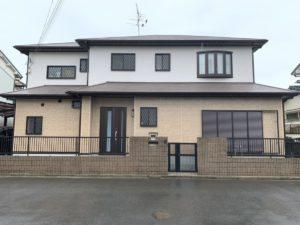奈良・大和高田市I様邸、外壁・屋根塗装工事